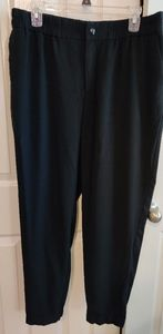 Lrg, black, tapered leg, comfy pants